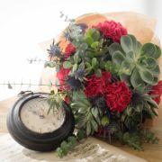 Bonny Highland | Big Succulent, Carnation, Thistles