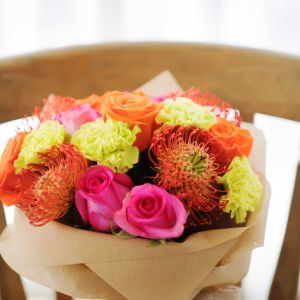 Roses, Carnation, Leucospermum | Buy Flowers in Dubai UAE | Gifts | Cakes