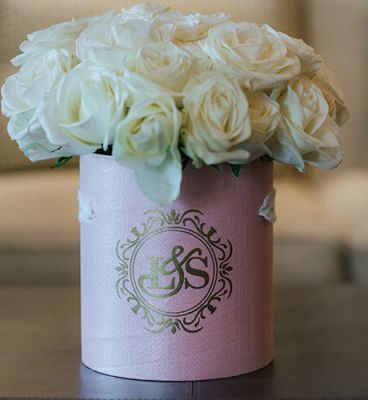 Wedding flower arrangement | Upscale and Posh Flowers