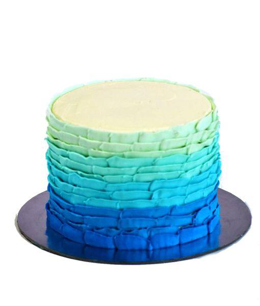 TILES cake ombre icing | Buy Cakes Dubai