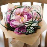 Pink Roses, Cymbidium, Chrysanthemum | Buy Flowers in Dubai UAE | Gifts | Cakes