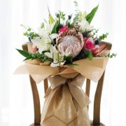 Secret Garden | Huge Protea, Oriental Lily, Roses