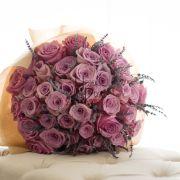 Simple Sophistication | Premium pink Roses, Lavender