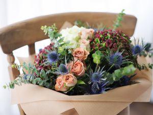 Premium cappuccino Roses, Hydrangea | Buy Flowers in Dubai UAE | Gifts | Cakes