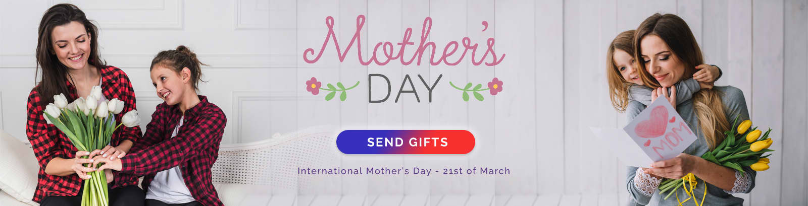 mothers day header - A Flowers Delivery in Dubai