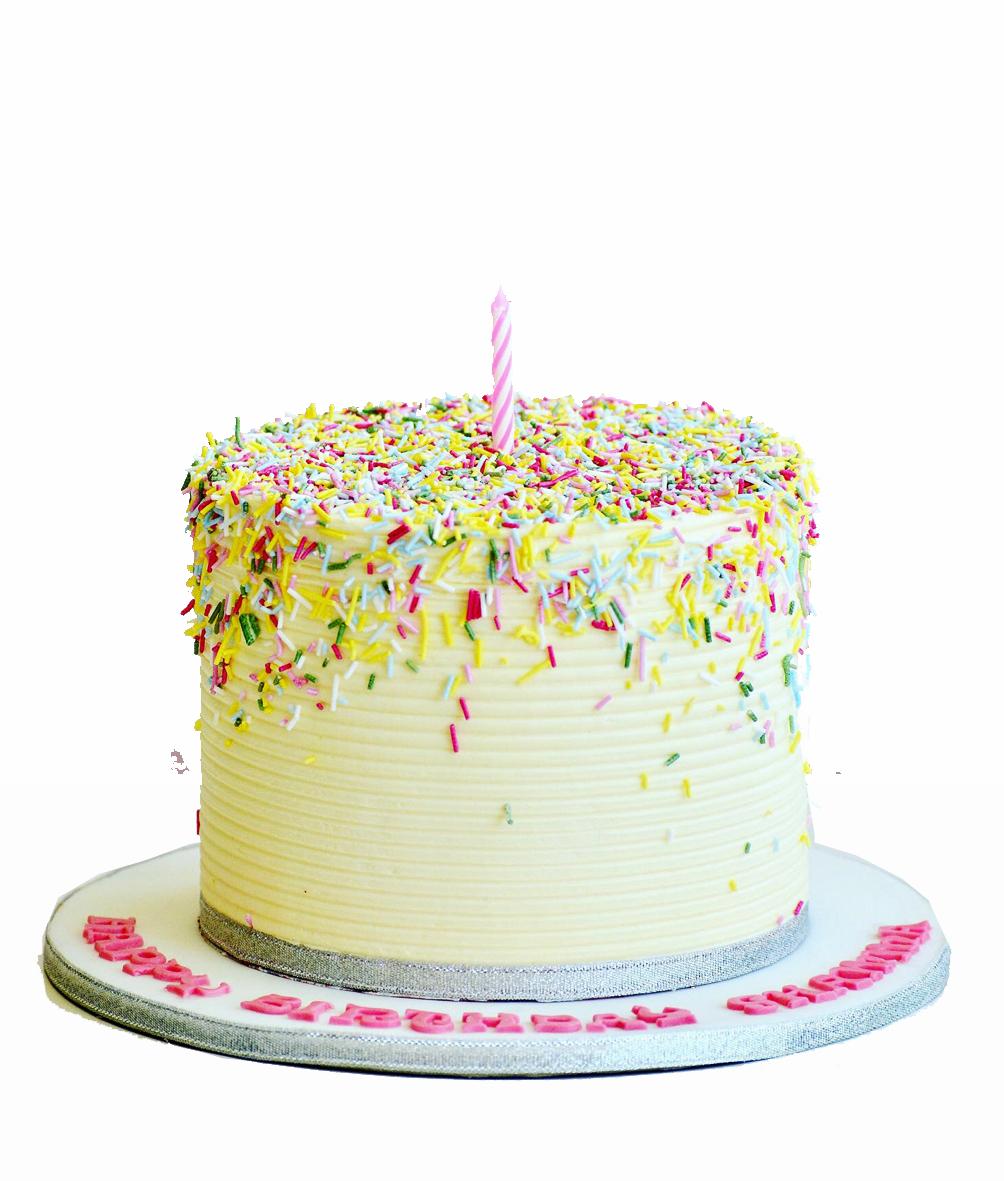 Half Sprinkles Cake Gift Online Cake Delivery In Dubai And Sharja
