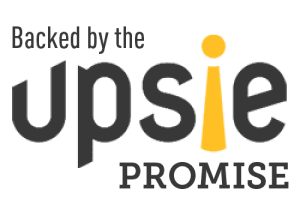 Backed by the Upsie promise