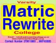 Varsity Matric Rewrite College