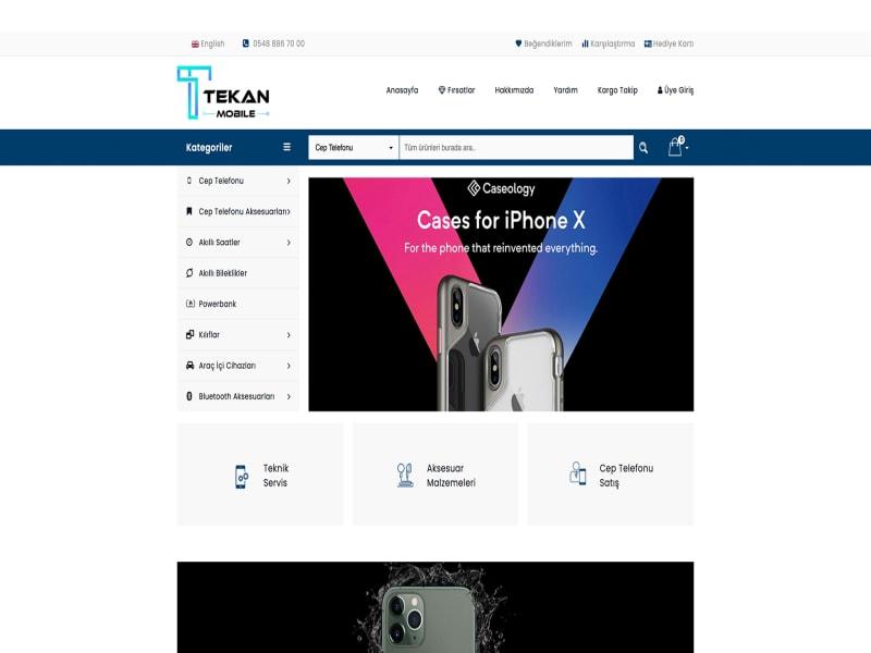 TEKAN MOBILE WEBSITE