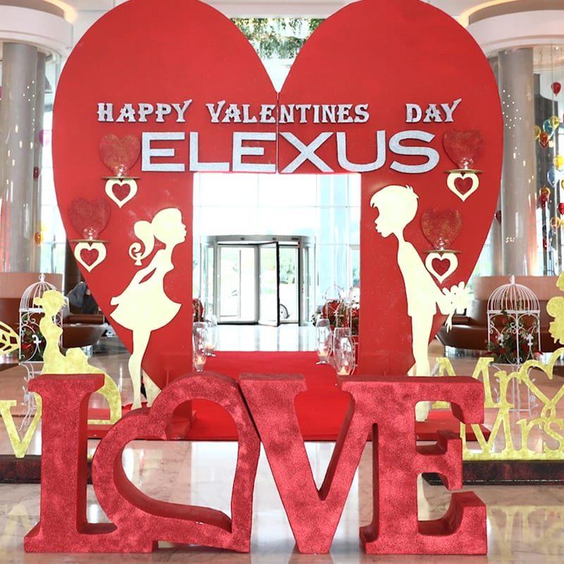 Elexus Hotel | Valentine's Day