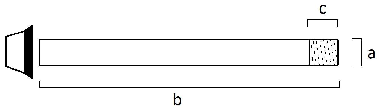 through axle measurement guide