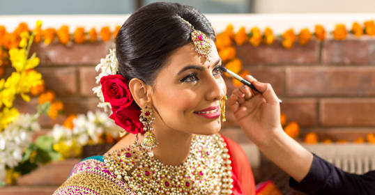 Image result for Bridal Makeup from my Wedding through UrbanClap