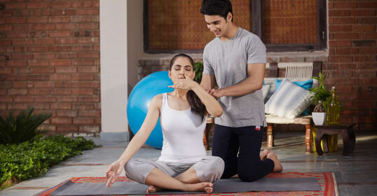 Yoga Trainer at Home