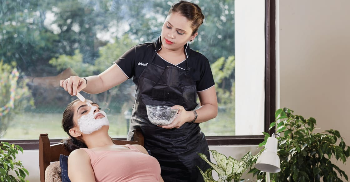 Urbanclap service experts hire wedding home beauty professionals salon at home junglespirit Choice Image