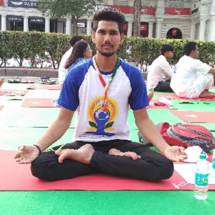 Yoga teacher 's image