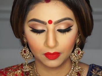 Bengali Makeup Ideas for Dulhans