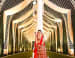 Bridal Snap With White Elegant Pillar Decor by Kabeer Grover Wedding-decor | Weddings Photos & Ideas