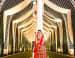 Bridal Snap With White Elegant Pillar Decor by Kabeer Grover Wedding-decor | Weddings Photos & Ideas