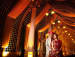 Bride And Groom Photography With Pillared Lamps Wedding Decor by Kabeer Grover Wedding-photography Wedding-decor | Weddings Photos & Ideas