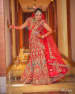 Candy Shaded Bridal Lehenga With Gold Pattern by Kabeer Grover Wedding-photography Wedding-dresses | Weddings Photos & Ideas