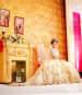 Designer Bridal Lehnega With Bugle Beads Embellishments by Kabeer Grover Wedding-photography Wedding-dresses | Weddings Photos & Ideas