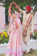 Bride and Groom Wearing Appealing Trendy Attires by Camera Waale Baraati Wedding-photography Groom-wear-and-accessories Wedding-dresses | Weddings Photos & Ideas