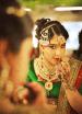 Graceful Bride Wearing Jhumka Mangtikka With Red Pendant Kundan Jewellery by Sunil S Rawat Wedding-photography Bridal-jewellery-and-accessories Bridal-makeup   Weddings Photos & Ideas