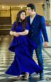 Majestic Royal Blue Themed Attires For Bride and Groom To-Be by Priyanka Kamboj Wedding-photography Wedding-hairstyles Groom-wear-and-accessories Wedding-dresses | Weddings Photos & Ideas