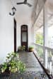 Patterned Marble Flooring With Plants In A Balcony by Dhruva Samal Open-spaces Contemporary | Interior Design Photos & Ideas