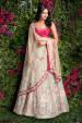 Rose Pink and Pastel Heavily Embroidered Bridal Lehenga by Shyamal & Bhumika Wedding-dresses | Weddings Photos & Ideas