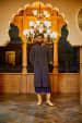 Navy Blue Sherwani With Zari Work by Amaare Groom-wear-and-accessories   Weddings Photos & Ideas