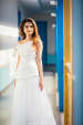 Aesthetic White Drop Shoulder Gown For Pre Wedding Shoot by Gautam Khullar Wedding-photography Wedding-dresses | Weddings Photos & Ideas