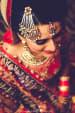Bridal Jewellery With A Jhoomar In Meenakari Work by Gautam Khullar Wedding-photography Bridal-jewellery-and-accessories | Weddings Photos & Ideas