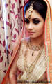 Bride with an intense look. by Chandini Mohindra Dawar Bridal-makeup | Weddings Photos & Ideas