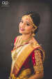 Sparkling bride with bright red lips by Ramya Bridal-makeup | Weddings Photos & Ideas