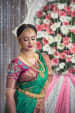 Stunning Bride with a bold look by Ramya Bridal-makeup | Weddings Photos & Ideas