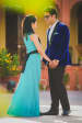 Blue Themed Outfits Worn By Bride and Groom To-Be by Priyanka Kamboj Wedding-photography Groom-wear-and-accessories Wedding-dresses | Weddings Photos & Ideas