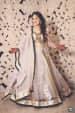 Shimmering Ivory Net Lehenga With Golden Borders by Priyanka Kamboj Wedding-photography Wedding-hairstyles Wedding-dresses | Weddings Photos & Ideas