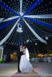 Majestic White And Blue Tent Decor With White String Lights Attached To A Pole by Terence Savio Pimenta Wedding-photography Wedding-decor | Weddings Photos & Ideas