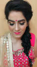 Hair and make-up done perfectly! by Simran Kaur Bridal-makeup | Weddings Photos & Ideas