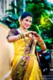 Bridal Portrait on Wedding Day by Raghu Raj Bridal-jewellery-and-accessories | Weddings Photos & Ideas