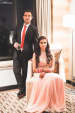 Couple Portrait On Wedding Reception Day by Vrutika Doshi Wedding-photography Groom-wear-and-accessories Wedding-dresses | Weddings Photos & Ideas