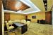 Office Cabin Decor With Wooden Tile Ceiling by Designopedia Contemporary | Interior Design Photos & Ideas