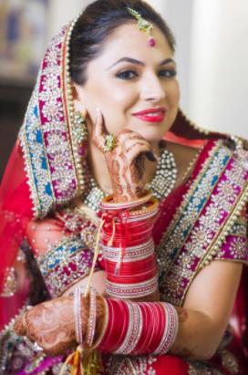 Bride Posing On Wedding Day by Gaurav Gupta Wedding-photography | Weddings Photos & Ideas