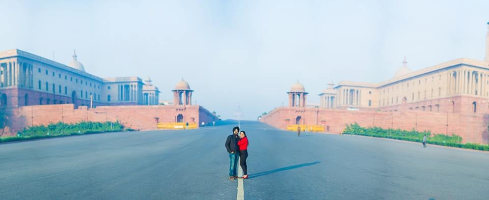 Captivating Duo On their Pre Wedding Shoot! by Aviral Panthri Wedding-photography   Weddings Photos & Ideas
