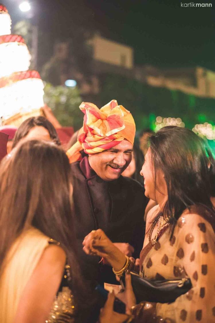 Wedding Guest In Orange And Yellow Turban by Kartik Mann Wedding-photography | Weddings Photos & Ideas