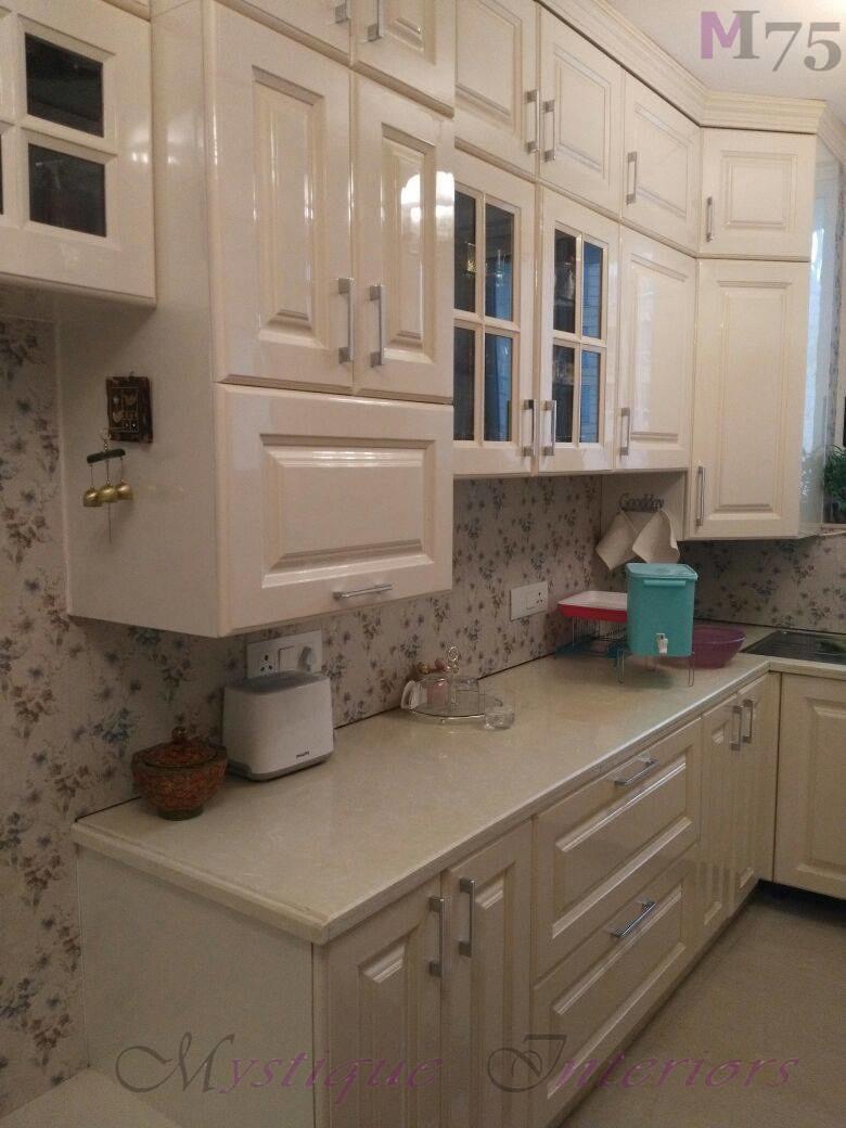 Impressive Well Furnished Kitchen Cabinets by Khyaati Verma Modular-kitchen Modern | Interior Design Photos & Ideas