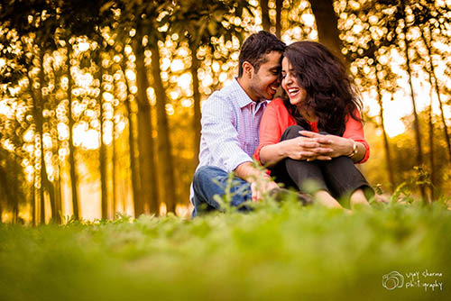 Simple Couple On Pre Wedding Shoot by Vijay Sharma Wedding-photography | Weddings Photos & Ideas
