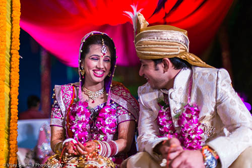 Bride And Groom On Their Wedding Day by Vijay Sharma Wedding-photography | Weddings Photos & Ideas