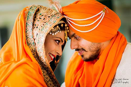 Punjab Bride And Groom On Their Special Day by Vijay Sharma Wedding-photography | Weddings Photos & Ideas